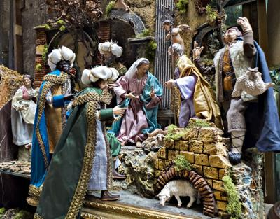 Nativity scene, Christmas