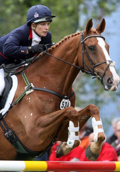 Queen's granddaughter Zara to seek Olympic glory