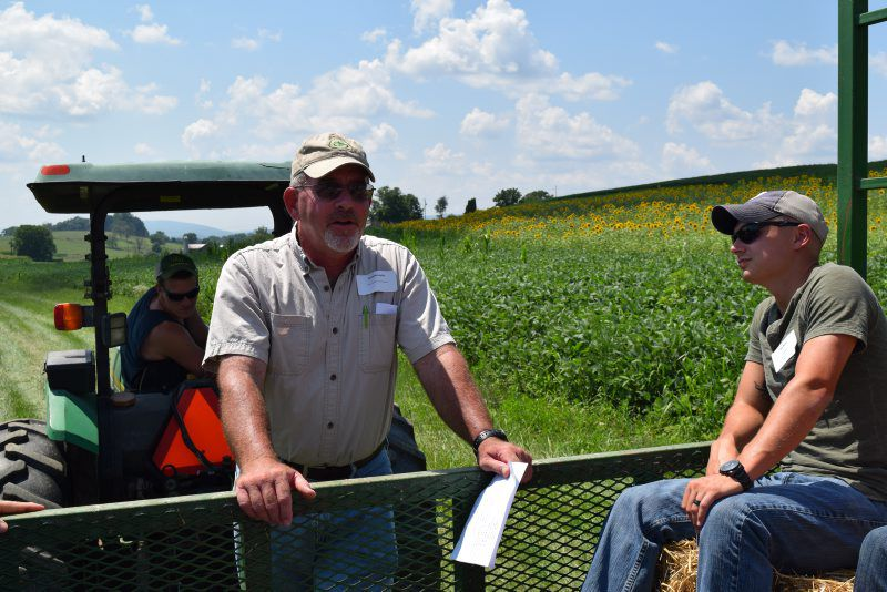 Conservation works pays farmers say news for Farmers almanac fishing report