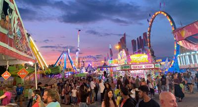 York Fair at Sunset