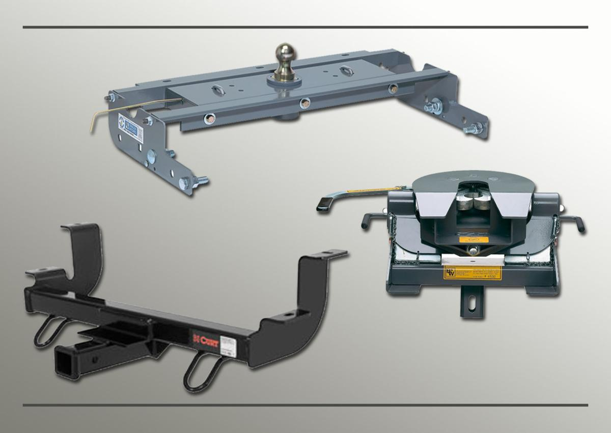 Standard and 5th Wheel Hitches available as well as instalation
