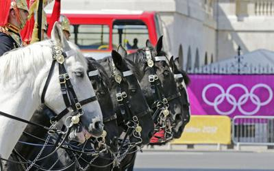 London Olympics: Horses at center stage