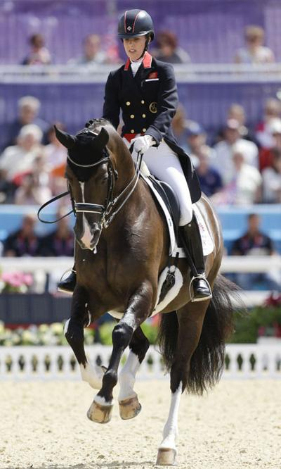 Olympics: Britain leads Germany in team dressage; US is in fifth