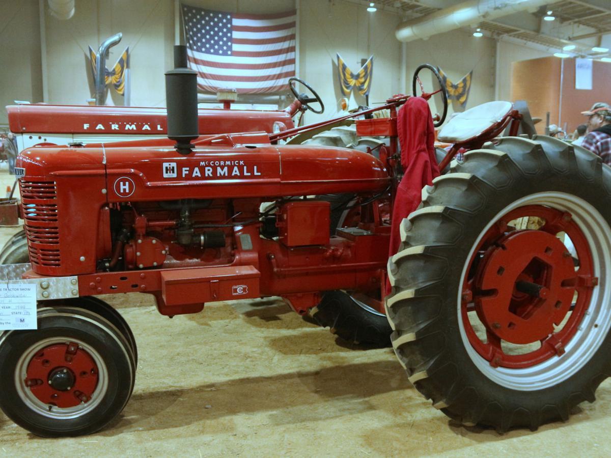 1944 Farmall Model H.