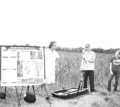 Cornell Researchers Talk Precision Ag at Field Day