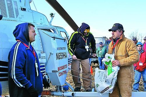 Aerial Seeding Offers Light Touch for Cover Crops