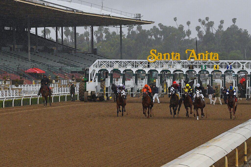Santa Anita ends live racing because of coronavirus