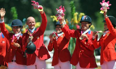 US eventing & dressage teams win team gold at Pan American Games