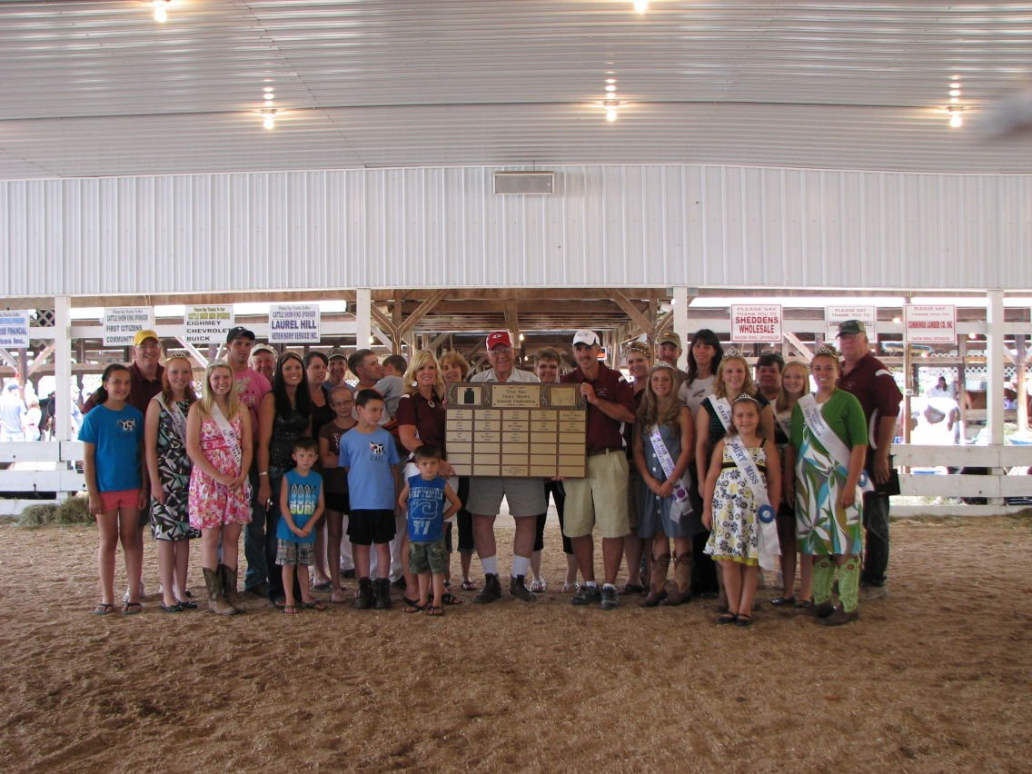 Holstein Captures Supreme Dairy Title at Troy Fair