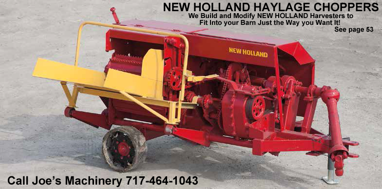 Joe's Machinery, LLC | new holland | choppers | Willow