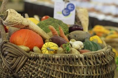 Vegetable Basket Entry at the Pennsylvania Farm Show