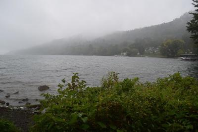 Lake Otsego in Fog