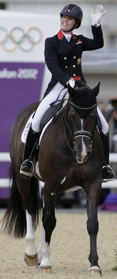 Olympics dressage: Britain wins team gold; US is 6th