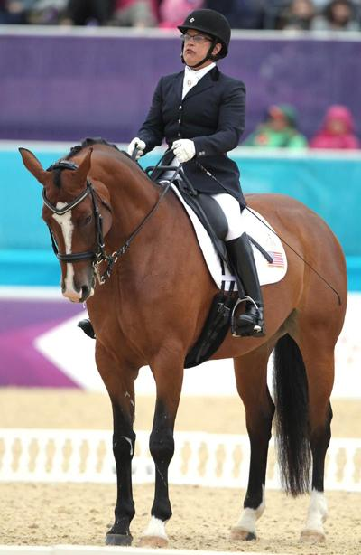 Paralympics: dressage riders from Pa. & NY place well