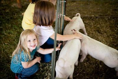 kids at ag fair