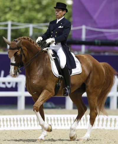 Dressage: Japanese rider is oldest at London Olympics