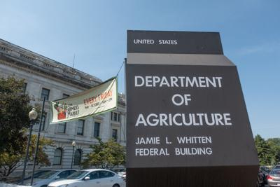 Department of Agriculture (USDA) South Building.