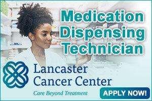 Lancaster Cancer Center, Medication Disp. Tech.