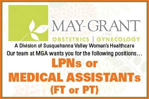 May-Grant OB/GYN, Multiple Positions