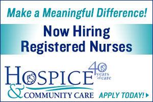Hospice & Community Care, Registered Nurses