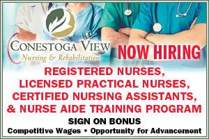 Conestoga View Nursing & Rehab, Multiple Positions