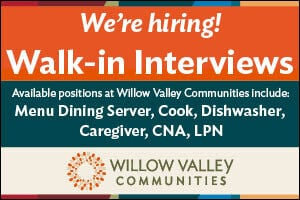 Willow Valley Communities, Multiple Positions