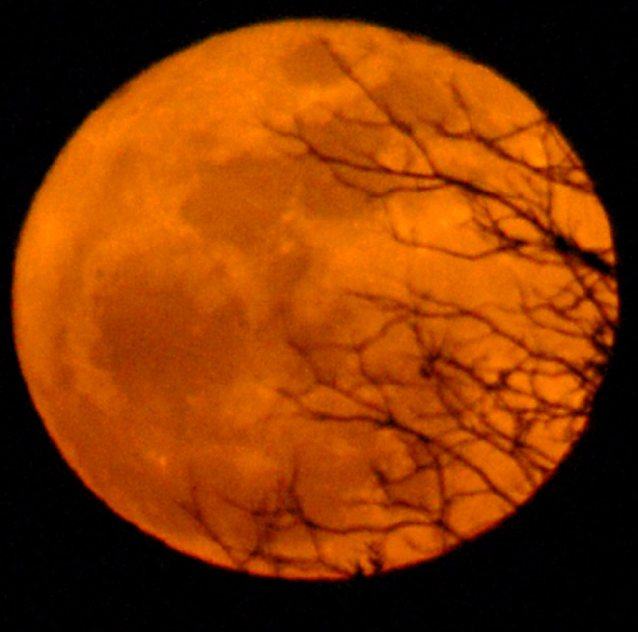 'SuperMoon' over Lancaster