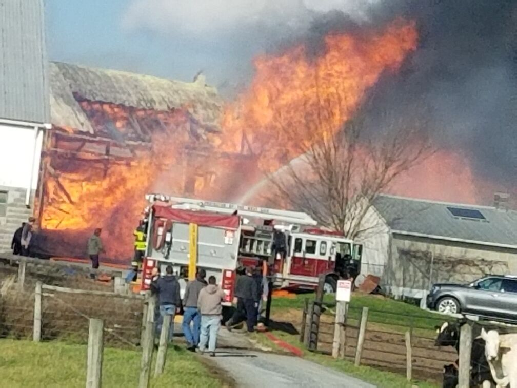 Clay township fire 11 28 2020 6
