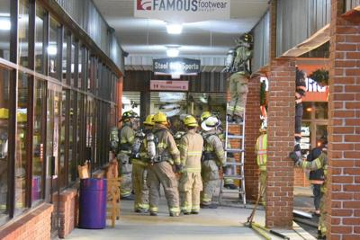 Fire crews respond to Rockvale Outlets call