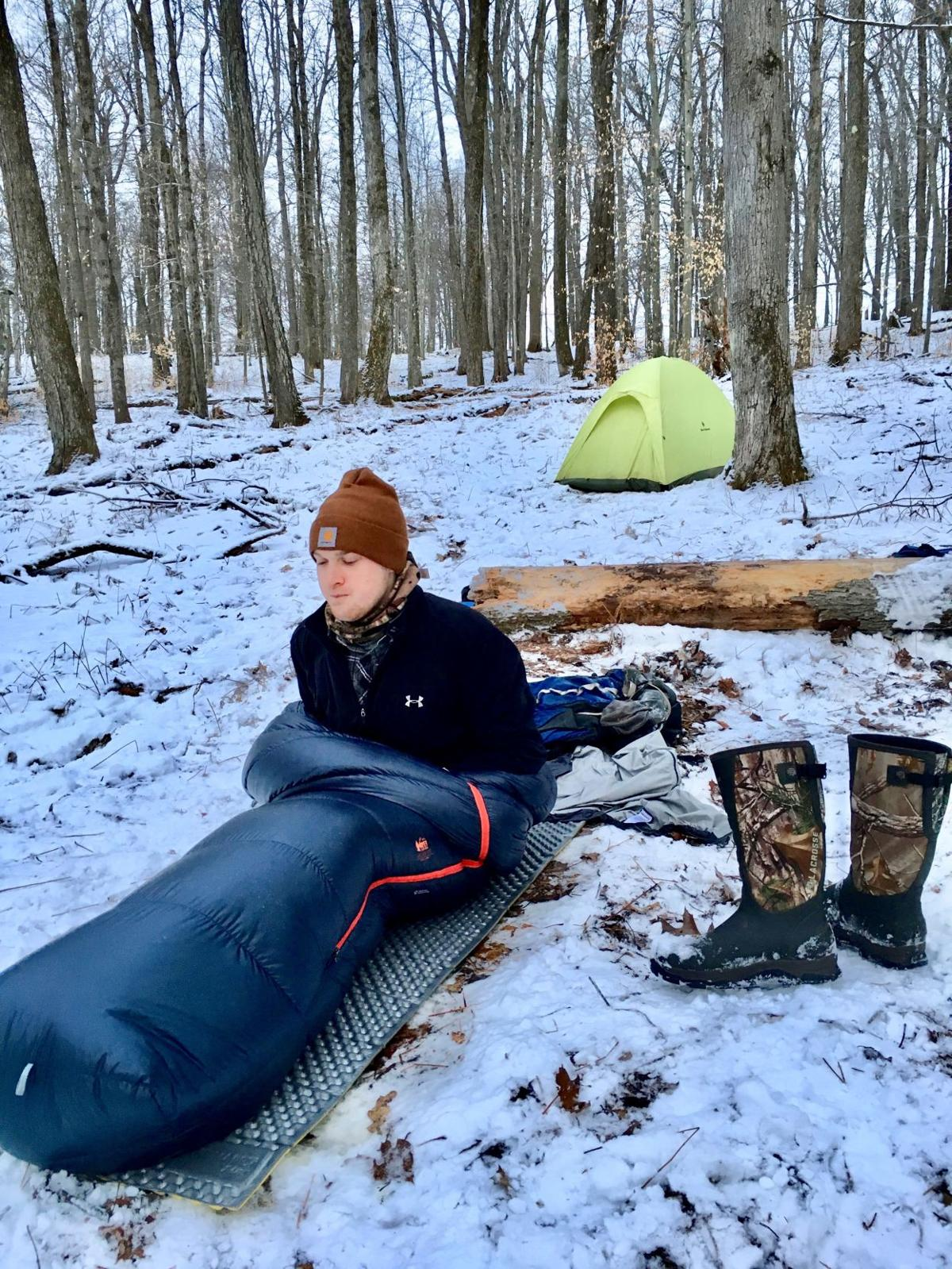 Winter camping in the most remote spot in Pennsylvania ...