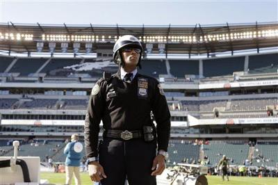 US Security Dolphins Eagles Football