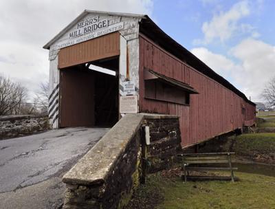 Herrs Mill covered bridge.jpg