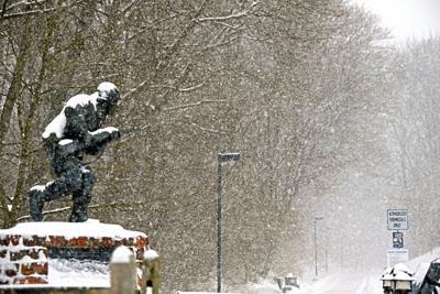 Snow across Lancaster County