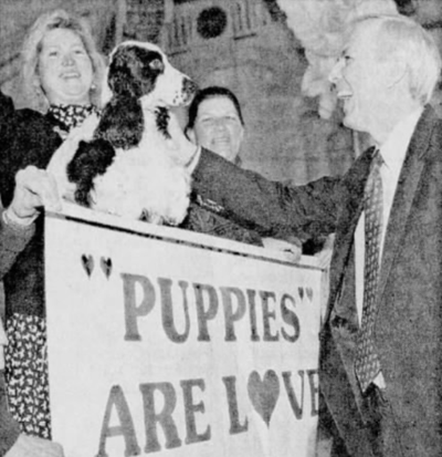 Puppy mill protest 1996