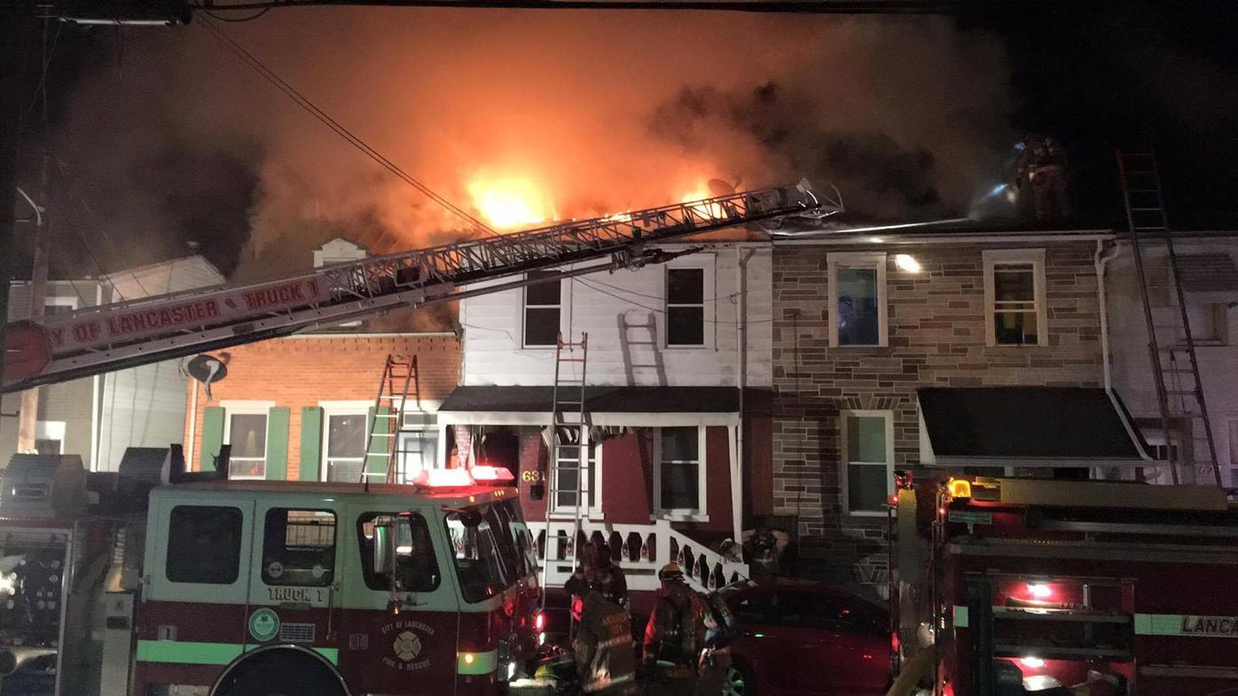 Fire 631 Marietta Avenue Lancaster