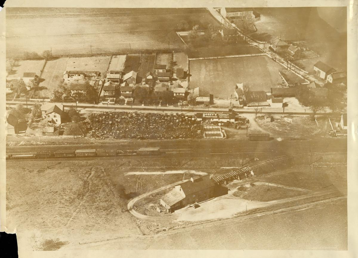 Rosey's Graveyard aerial photo