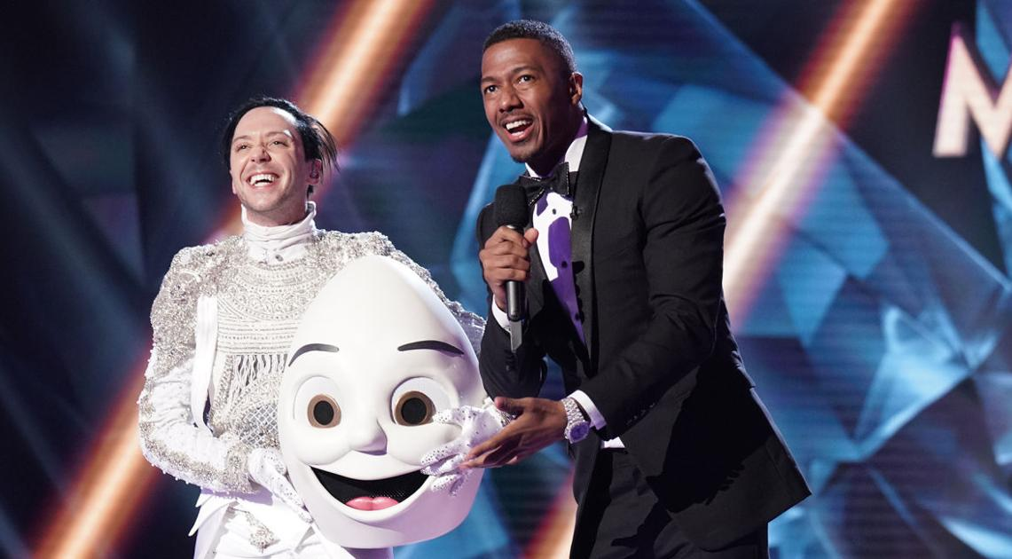 Quarryville native Johnny Weir revealed as 'The Egg' on 'Masked Singer' season 2 premiere on Fox