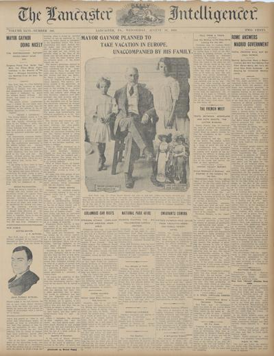 front page - 8/1910