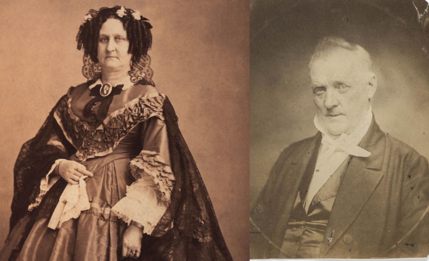 James Buchanan and Cornelia Van Ness Roosevelt