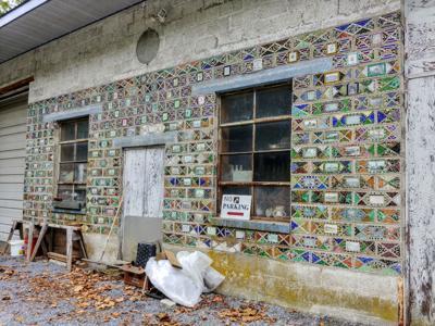 Garage mosaic