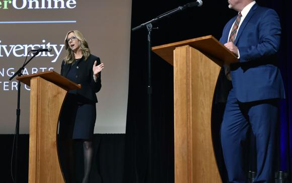 Four takeaways from Tuesday's district attorney candidate debate