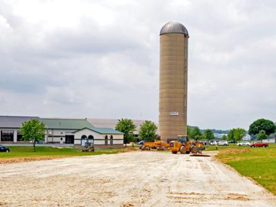 Kreider Farms silo