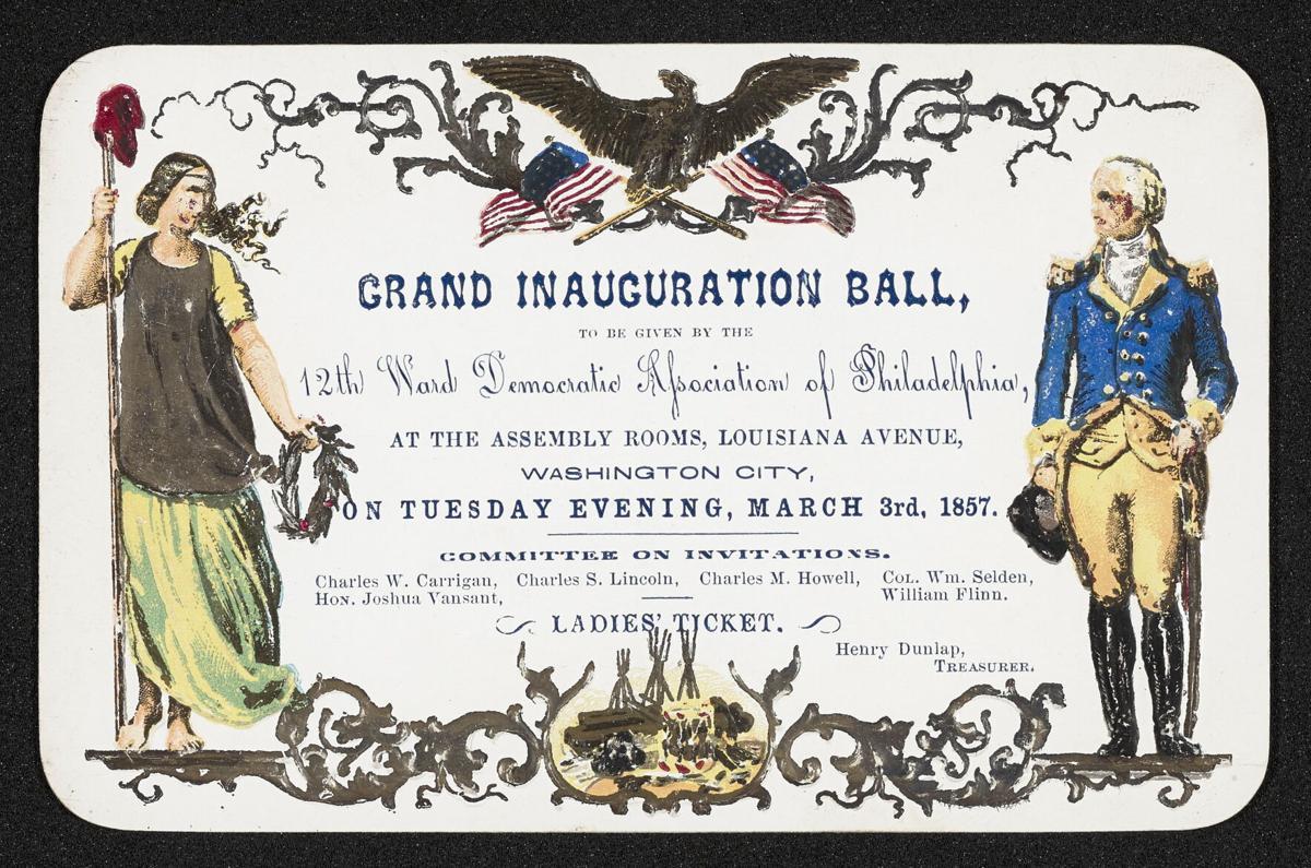 James Buchanan Presidential Library invitation