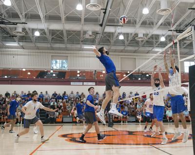 Garden Spot vs. Lower Dauphin- PIAA 2A boys volleyball semifinal