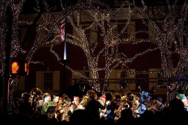 downtown lancaster holiday events kick off with tree lighting tuba christmas entertainment lancasteronlinecom
