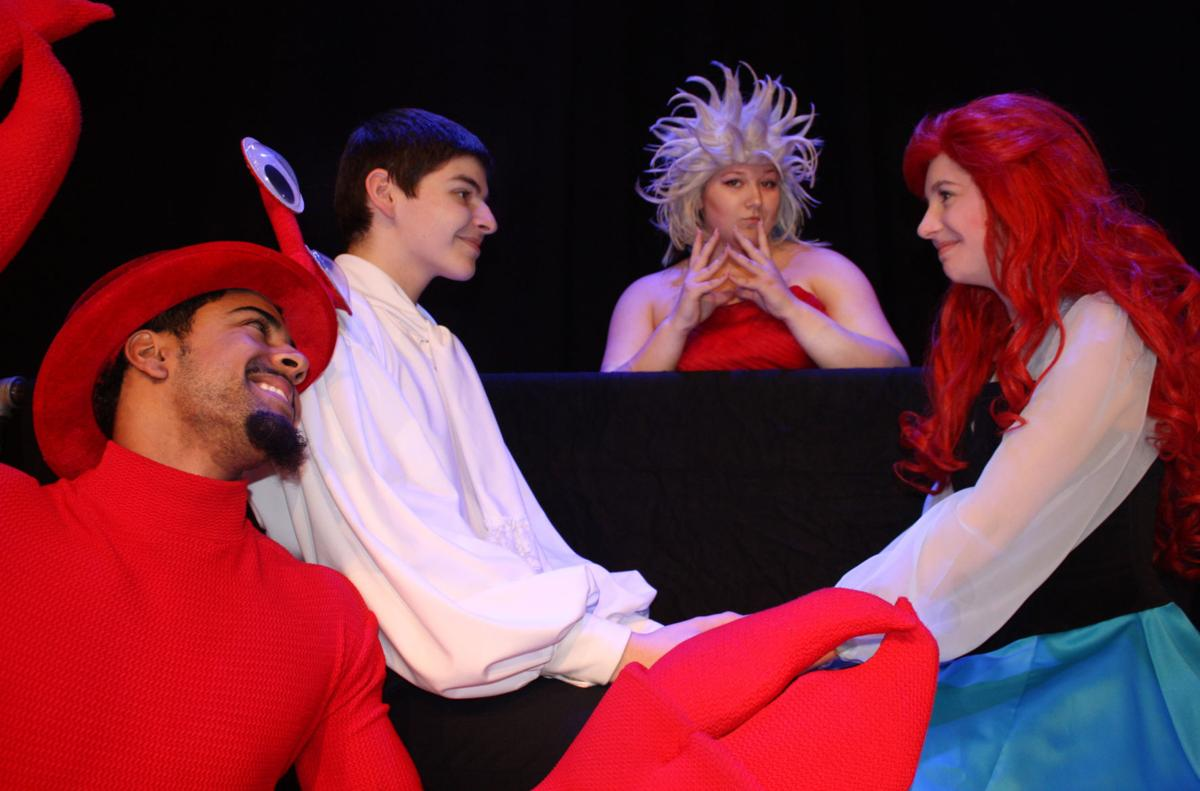 "Cast of Hempfield High School's ""The Little Mermaid.''"