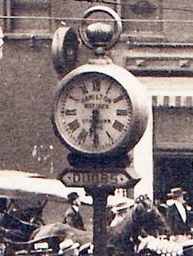 Hamilton Watch street clock