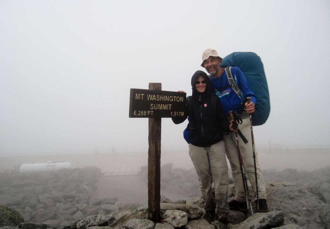 Lois and Ernie Hess Appalachian Trail