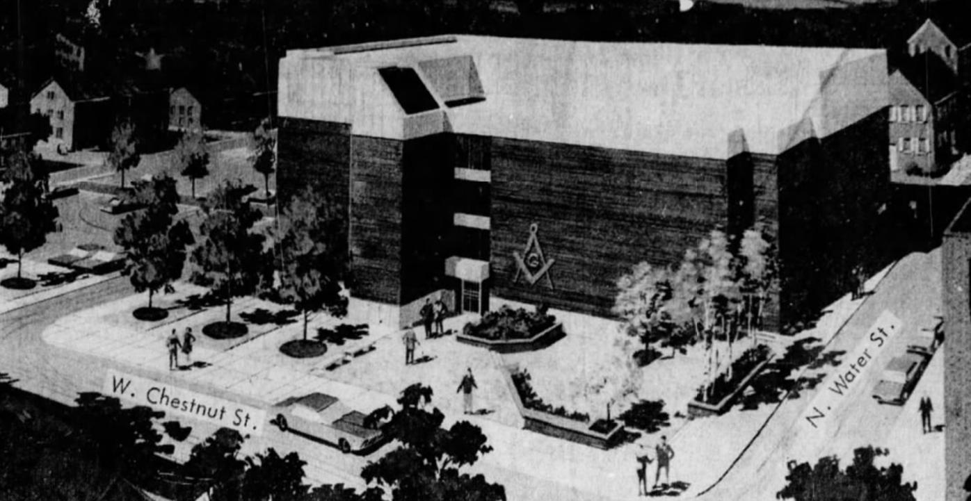 Masonic hall, 1971