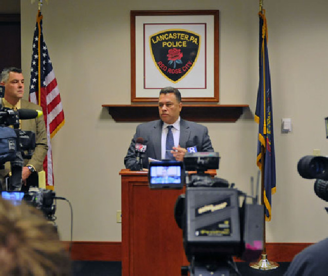 Lancaster police chief vows to find arsonist